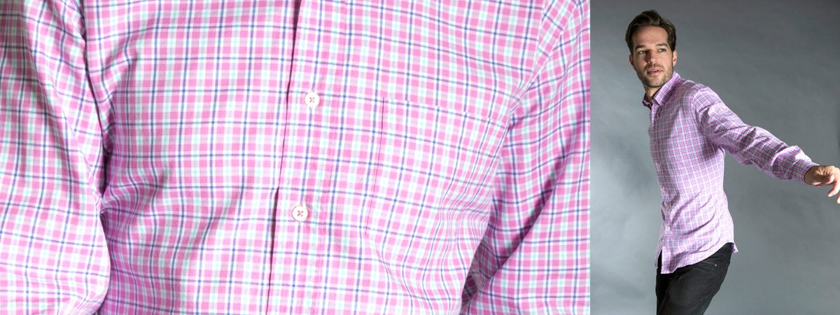 Cotton Wrinkle-Free Shirts and Non-Iron Fabrications